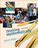 Thinking Mathematically, Blitzer, Robert, 0130656011