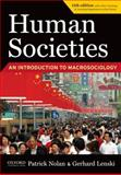 Human Societies 11th Edition
