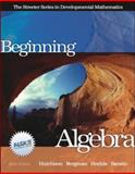 Beginning Algebra with MathZone, Hutchison, Donald and Bergman, Barry, 0073016020