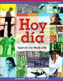 Hoy Día Vol. 1 : Spanish for Real Life, McMinn, John T. and García, Nuria Alonso, 0205756026