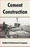 Cement Construction 9781410106025