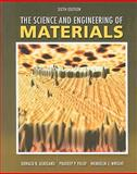 The Science and Engineering of Materials 9780495296027