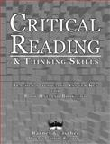 Critical Reading and Thinking Skills, Barnes, Julian and Fischer, C., 0791516024