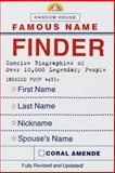 Famous Name Finder, Coral Amende, 037570602X