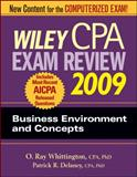 CPA Exam Review 2009 : Business Environment and Concepts, Delaney, Patrick R. and Whittington, O. Ray, 0470286024