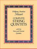 Complete String Quintets, Wolfgang Amadeus Mozart, 048623603X