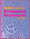Bergey's Manual of Determinative Bacteriology, Holt, John G., 0683006037
