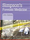 Simpson's Forensic Medicine 13th Edition