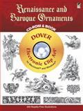 Renaissance and Baroque Ornaments, Dover Publications Inc. Staff, 0486996034