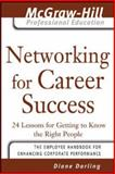 Networking for Career Success : 24 Lessons for Getting to Know the Right People, Darling, Diane, 0071456031