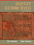 Solid State Electronic Devices, Streetman, Ben and Banerjee, Sanjay, 0133356035