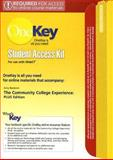 The Community College Experience Student Access Kit for Use with WebCT, Baldwin, Amy, 0132216043