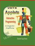 Java Applets (2nd ed) B&W: Interactive Programming, Elizabeth Sugar Boese, 1430316047