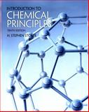 Introduction to Chemical Principles, Stoker, H. Stephen, 0321666046
