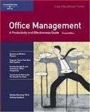 Office Management : A Productivity and Effectiveness Guide, Patricia, Haddock, 1560526041