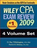 Wiley CPA Exam Review 2009 : 4-Volume Set, Delaney, Patrick R. and Whittington, O. Ray, 0470286059