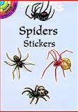 Spiders Stickers, Lisa Bonforte, 0486296059