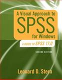 A Visual Approach to SPSS for Windows : A Guide to SPSS 17.0, Stern, Leonard D., 0205706053