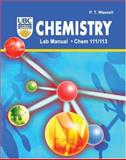 Chemistry Lab Manual : Chem 111/113, Wassell, Peter T., 0757546056