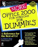 More Microsoft Office 2000 for Windows for Dummies, Wallace Wang, 0764506056