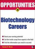 Opportunities in Biotech Careers, Brown, Sheldon S., 0071476059