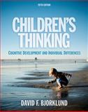 Children's Thinking, Bjorklund, David F., 1111346054