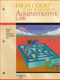 High Court Case Summaries on Administrative Law-Keyed to Funk, 3d, West, 0314176055