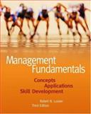 Management Fundamentals : Concepts, Applications, Skill Development, Lussier, Robert N., 0324226063