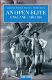 An Open Elite? : England 1540-1880, Stone, Lawrence and Stone, Jeanne C. Fawtier, 0198206070