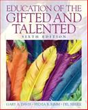 Education of the Gifted and Talented, Davis, Gary A. and Rimm, Sylvia B., 0135056071