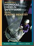 McGraw-Hill's Chemical Safety Guide for the Plastics Industry, Pohanish, Richard, 007135607X