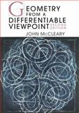 Geometry from a Differentiable Viewpoint, McCleary, John, 0521116074