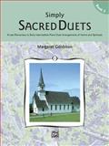 Simply Sacred Duets, Margaret Goldston, 0739016075
