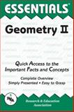 Geometry II Essentials, Research & Education Association Editors, 0878916075