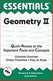 Geometry II Essentials, Research & Education Association Editors, 0878916075