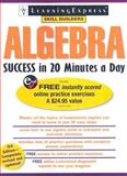 Algebra Success in 20 Minutes a Day, LearningExpress Editors, 1576856070