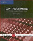 Java Programming : From Problem Analysis to Program Design, Malik, D. S., 0619216085