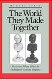 The World They Made Together - Black and White Values in Eighteenth-Century Virginia, Sobel, Mechal, 0691006083