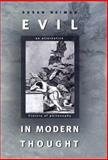 Evil in Modern Thought 9780691096087