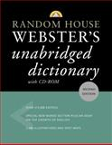 Random House Webster's Unabridged Dictionary with CD-ROM, RH Disney Staff, 0375426094