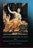 Poetics Before Plato 9780691096094