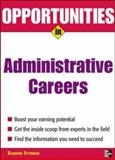 Opportunities in Administrative Assistant Careers, Ettinger, Blanche, 0071476091