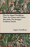Plays by August Strindberg 9781846646096