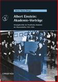 Albert Einstein: Akademie-Vorträge : Sitzungsberichte der Preu#946;ischen Akademie der Wissenschaften 1914 1932, , 3527406093