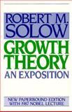 Growth Theory 9780195056099