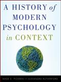 A History of Modern Psychology in Context, Pickren, Wade and Rutherford, Alexandra, 0470276096