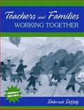 Teachers and Families Working Together 9780205376100