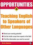 Opportunities in Teaching English to Speakers of Other Languages, Camenson, Blythe, 0071476105