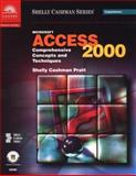 Microsoft Access 2000 : Comprehensive Concepts and Techniques, Shelly, Gary B. and Cashman, Thomas J., 0789556103