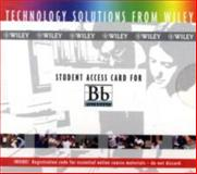Student Access Card for Blackboard, Wiley, 0471656100